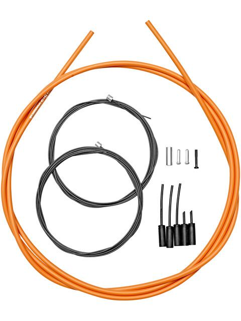 Shimano Road - Câble de dérailleur - revêtement polymère orange